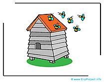 Rucher image gratuite – Ferme illustration
