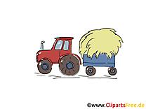 Tracteur illustration – Ferme images