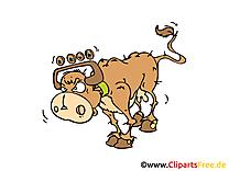 Vache image gratuite – Ferme clipart