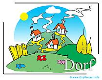 Village dessin à télécharger – Ferme images