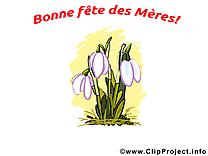 Cliparts gratuis fleurs – Fête des Mères images