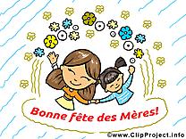 Enfant images – Fête des Mères clip art gratuit