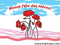 Fleurs fête des Mères image à télécharger gratuite
