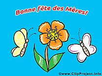 Image gratuite fleurs – Fête des Mères cliparts
