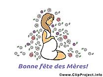 Maman clipart – Fête des Mères dessins gratuits