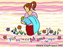 Mère clipart – Fête dessins gratuits