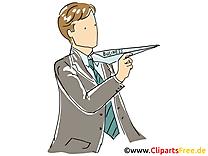 Avion en papier dessin – Finances cliparts à télécharger