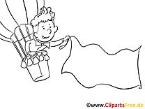 Ballon images à imprimer – Finances dessins gratuits