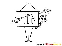 Clipart à colorier homme – Finances images