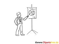 Dessins à colorier graphique – Finances clipart
