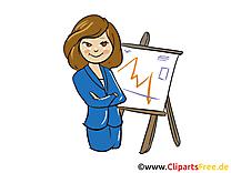 Femme d'affaire clip art gratuit – Finances dessin