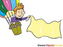 Garçon ballon image gratuite – Finances cliparts