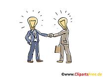 Hommes d'affaires image – Finances clipart