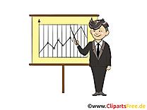 Illustration gratuite homme – Finances clipart