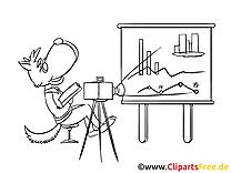 Loup image à colorier – Finances clipart