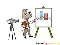 Management illustration gratuite – Finances clipart