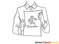 Organisation cliparts à colorier – Finances images