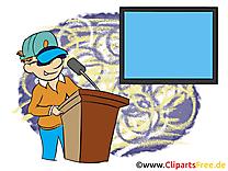 Présentateur dessin à télécharger – Finances images