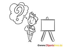 Question image à imprimer – Finances cliparts