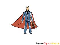 Superman cliparts gratuis – Finances images