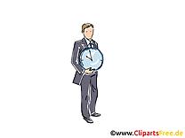 Temps clip art gratuit – Finances dessin