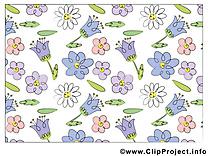 Fleurs cliparts gratuis  images