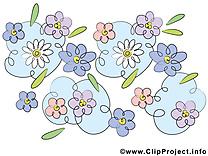 Floraison illustration gratuite – Fleurs clipart