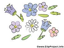 Floraison image à télécharger – Fleurs clipart