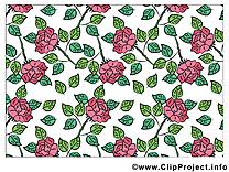 Fonds d'écran dessin à télécharger – Fleurs images