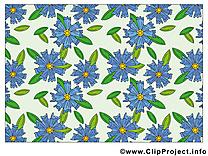 Fonds d'écran image gratuite – Fleurs clipart