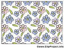 Fonds d'écran image gratuite – Fleurs cliparts
