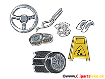 Automobile clip art – Fonds d'écran gratuite