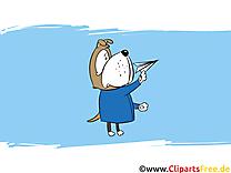 Chien clipart gratuit - Fonds d'écran dessins