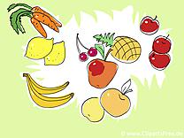 Fruits dessin gratuit - Fonds d'écran gratuits