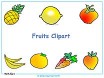 Fruits et légumes clip art fond d ecran
