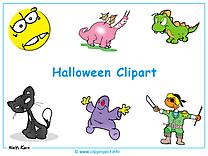 Halloween clip art fond d'écran