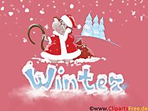 Hiver clipart - Fonds d'écran images