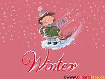 Image hiver gratuite - Fonds d'écran cliparts