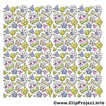 Oeufs clip art – Pâques gratuite