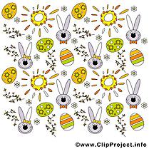 Soleil pâques dessin gratuit à télécharger