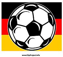 Football clip art gratuit - Allemagne images