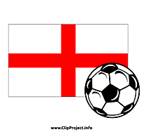 Image football clipart - Angleterre image