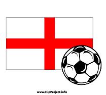 Image football clipart - Angleterre image