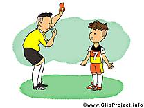 Arbitre clipart - Football dessins gratuits