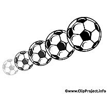 Ballons image gratuite - Football illustration