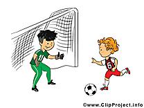But image gratuite – Football clipart
