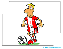 Capitaine images gratuites – Football clipart