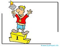 Champion image gratuite - Football cliparts