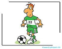 Défenseur images - Football clip art gratuit