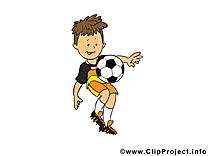 Dessins gratuits football clipart